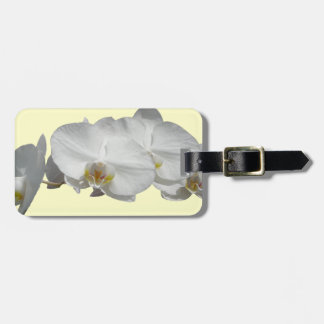 Hawaii White Orchid Bag Tag