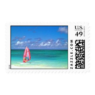 Hawaii Windsurfing Sellos Postales