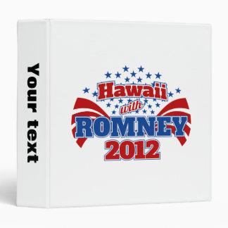 Hawaii with Romney 2012 Binder