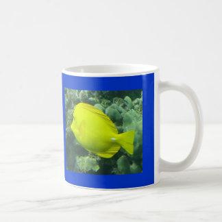 Hawaii Yellow Tang - Lau'i Pala Classic White Coffee Mug