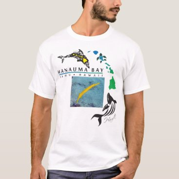 Hawaiian Themed Hawaii Yellow Trumpet Fish T-Shirt