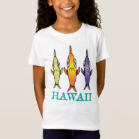 Hawaiian 3-Fishes T-Shirt