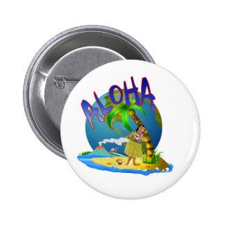Hawaiian Aloha Button