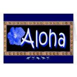 Hawaiian Aloha Card