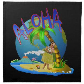 Hawaiian Aloha Cloth Napkin