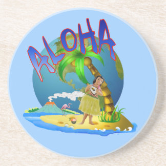 Hawaiian Aloha Coaster