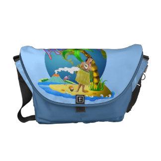 Hawaiian Aloha Courier Bag