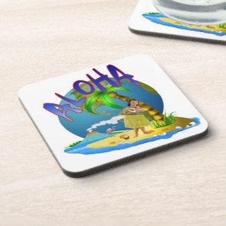 Hawaiian Aloha Drink Coaster