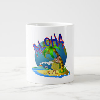 Hawaiian Aloha Giant Coffee Mug