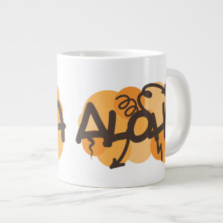 HAwaiian - Aloha graffiti style Giant Coffee Mug