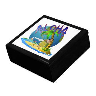 Hawaiian Aloha Jewelry Box