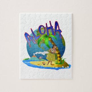 Hawaiian Aloha Jigsaw Puzzle