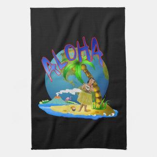 Hawaiian Aloha Kitchen Towel