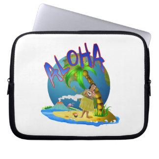 Hawaiian Aloha Laptop Computer Sleeve