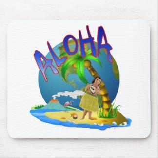 Hawaiian Aloha Mouse Pad