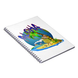 Hawaiian Aloha Notebook