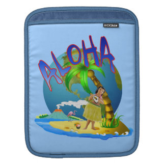 Hawaiian Aloha Sleeve For iPads