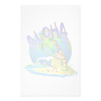 Hawaiian Aloha Stationery