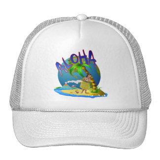 Hawaiian Aloha Trucker Hat