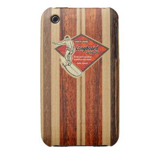 Hawaiian Barely There de la tabla hawaiana de Case-Mate iPhone 3 Protectores