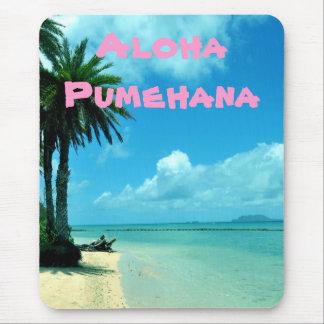 Hawaiian Beach Expressions Mousepad