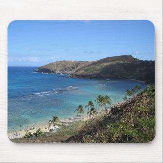 Hawaiian Beach Mouse Pad