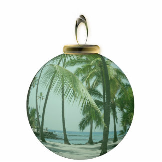 Hawaiian Beach Ornament