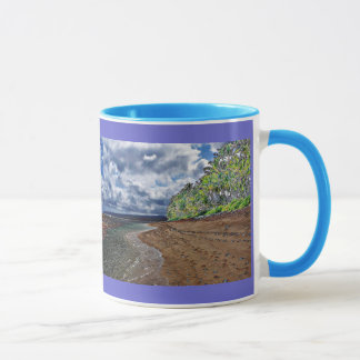 Hawaiian Beach Scenery Mug