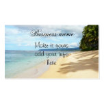 Hawaiian beach scenes Business Card Pack Of Standard Business Cards