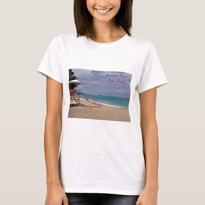Hawaiian Beach Scenes Tee
