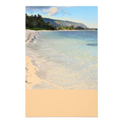 Hawaiian Beach Stationery