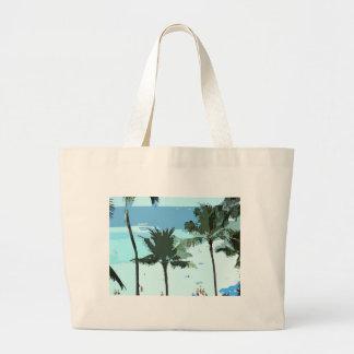 Hawaiian Beach Tote Bag Jumbo Tote Bag