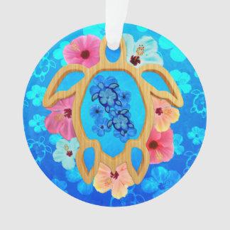 Hawaiian Blue Honu Ornament