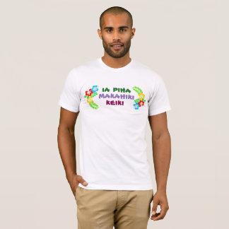 Hawaiian Boy Birthday Shirt