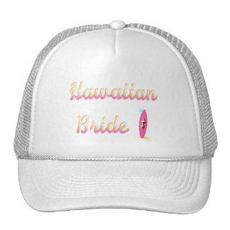 Hawaiian Bride (Surfboard) Trucker Hat