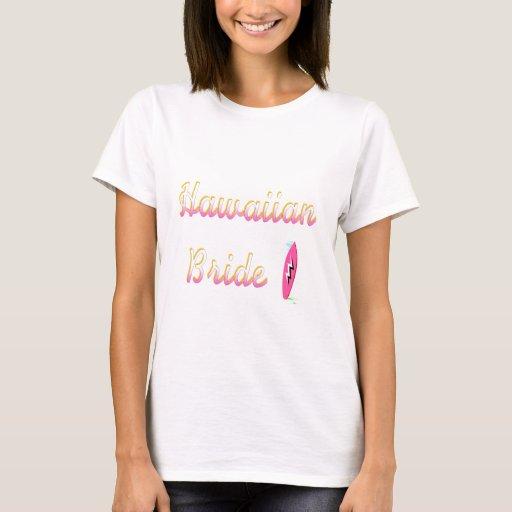 Hawaiian Bride (Surfboard) T-Shirt