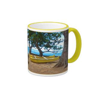 Hawaiian Canoe Ringer Mug
