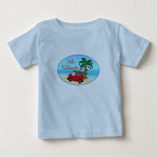 Hawaiian Christmas Baby T-Shirt