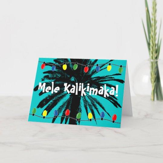 hawaiian christmas cards mele kalikimaka - Hawaiian Christmas Cards