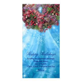 hawaiian christmas eve card