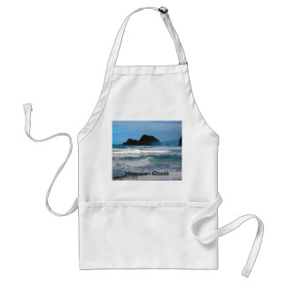 Hawaiian Coast Blue Sky Adult Apron