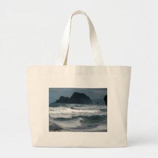 Hawaiian Coast Large Tote Bag