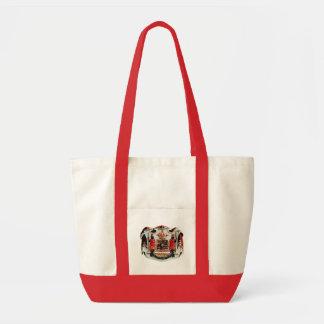 Hawaiian Coat of Arms Tote Bag