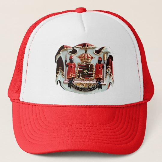 Hawaiian Coat of Arms Trucker Hat