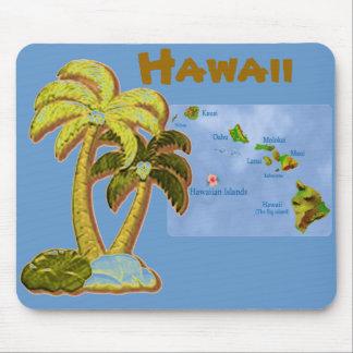 Hawaiian Coconut trees mousepad