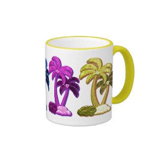 Hawaiian Coconut trees mug
