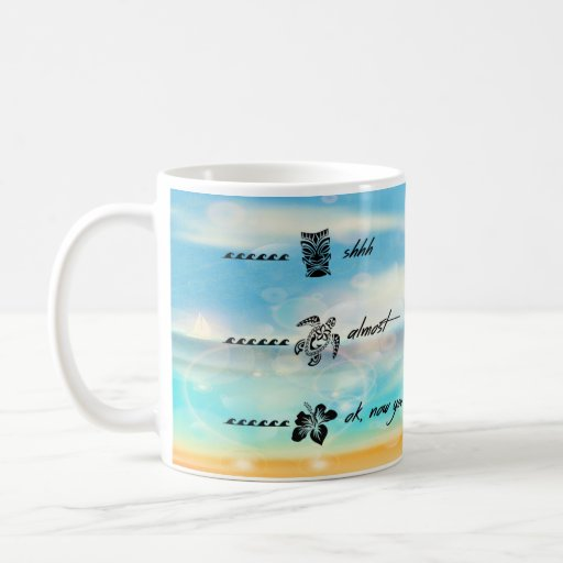 Hawaiian Coffee Mug