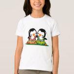 Hawaiian Dance Girls Ringer T-Shirt