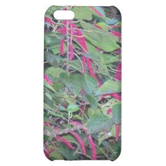Hawaiian deep purple flowers case for iPhone 5C