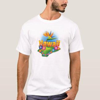 Hawaiian Design on T-Shirt